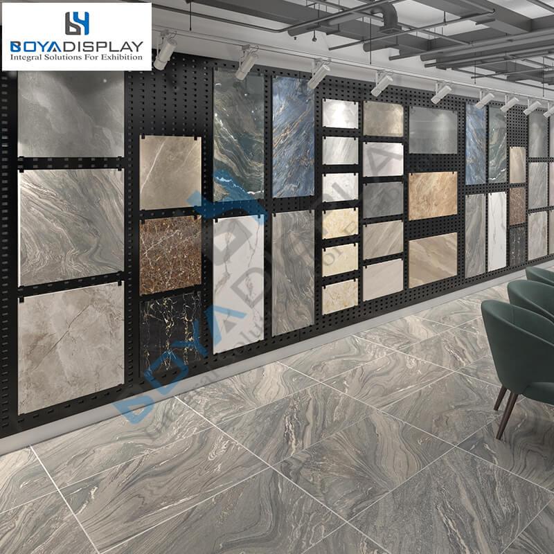 Tile Wood Flooring Display Wall Stand